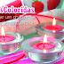 Velas coloridas na decoração