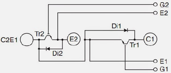 Homemade inverter inverter schematics circuit diagrams how to then the symbol for igbt modules look like this ccuart Image collections