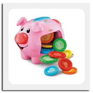 Fisher Price Laugh n' Learn Piggy Bank