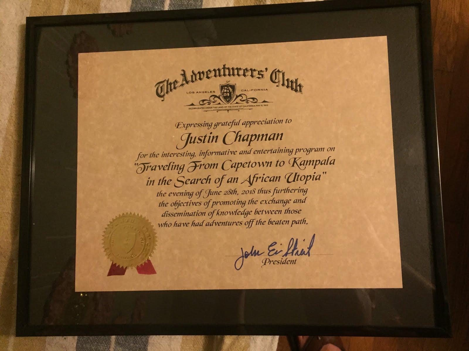 Adventurers Club of Los Angeles