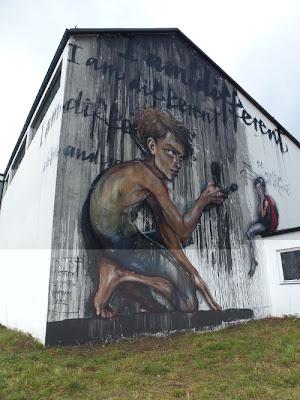 Streetart, Graffiti, Herakut