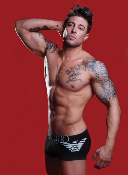 Duncan James shirtless