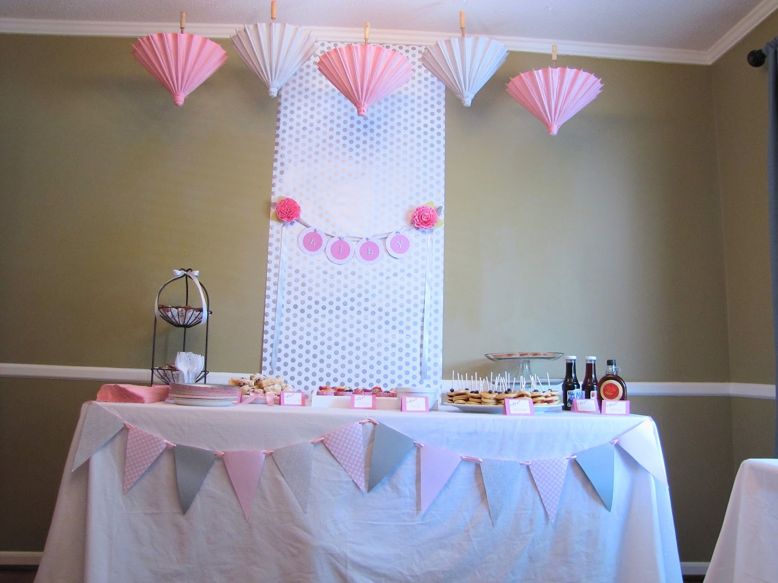 The Modest Homestead: Shower Her with Love Baby Shower