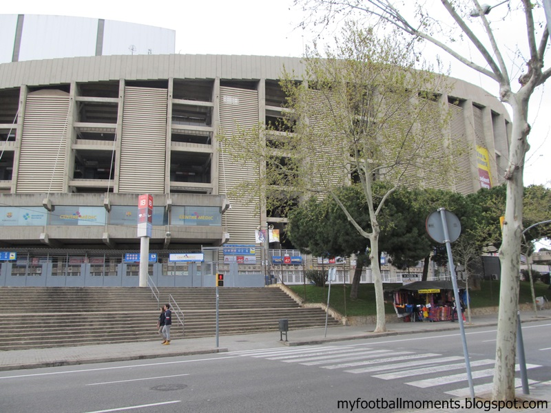 my football moments groundhopping fc barcelona rcd mallorca. Black Bedroom Furniture Sets. Home Design Ideas