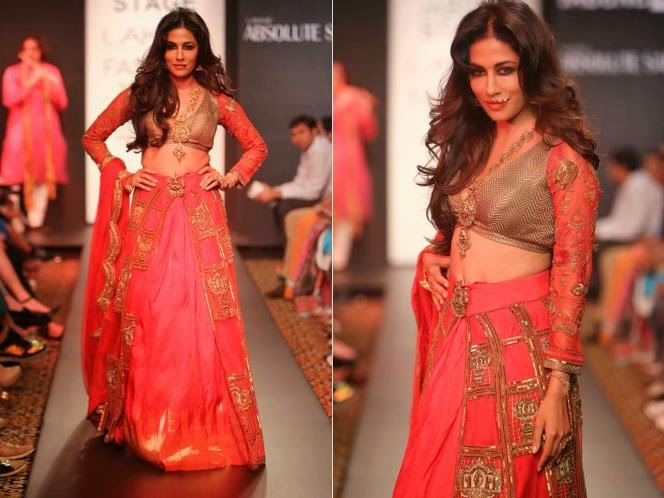 Chitrangada singh in lakme fashion week 2014