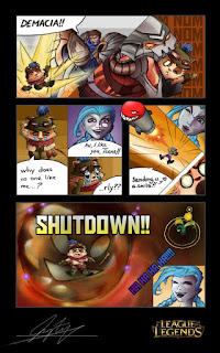 League of Legends funny comic