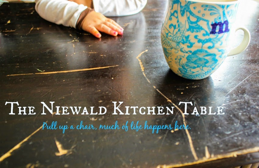 The Niewald Kitchen Table