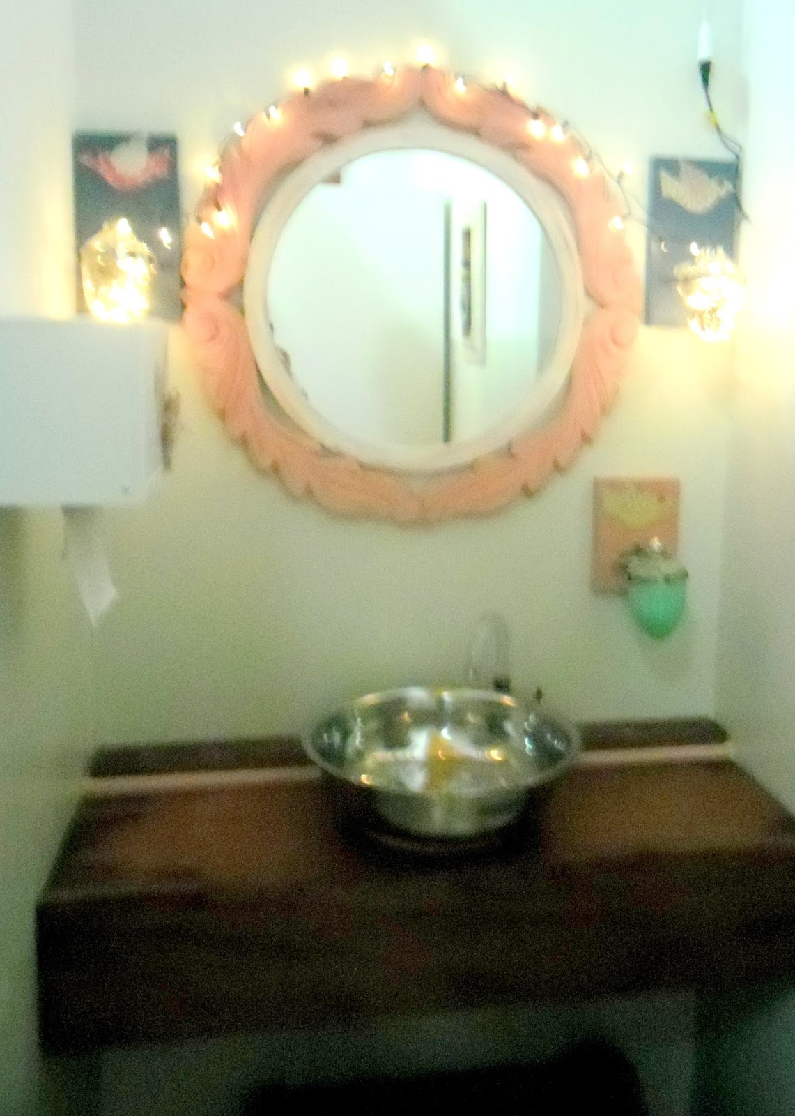 bancada externado banheiro feminino a proprietária queria um espaço  #594321 1141x1600 Bancada Banheiro Usada