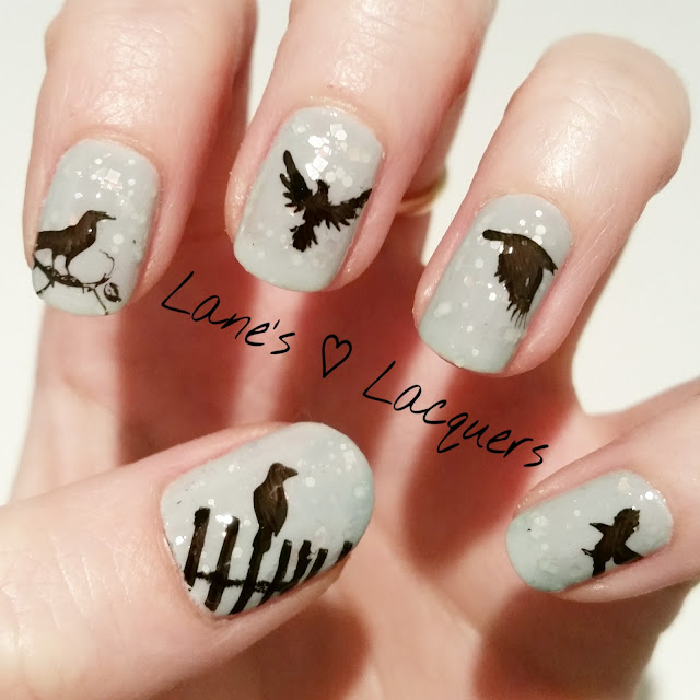40-great-nail-art-ideas-things-that-fly-birds-crow-nail-art (1)