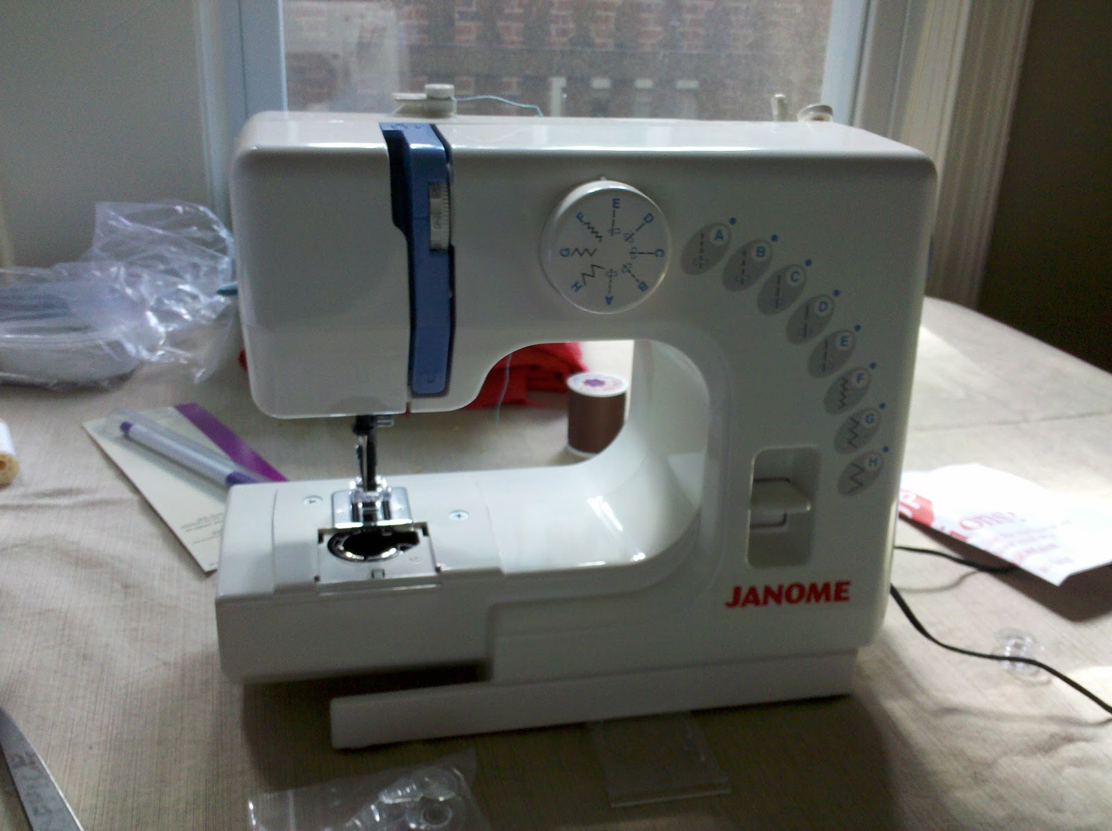 how to start sewing machine
