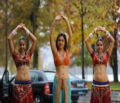 Bollywood Actresses in Dancing Position