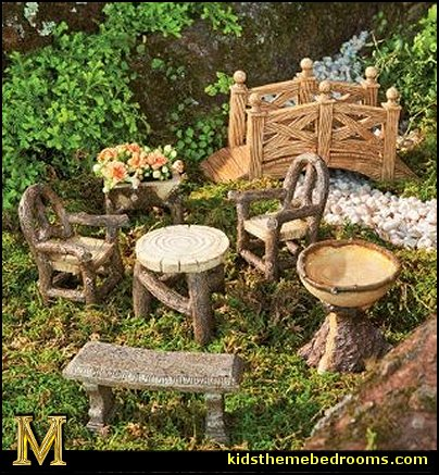 Decorating theme bedrooms Maries Manor fairy garden