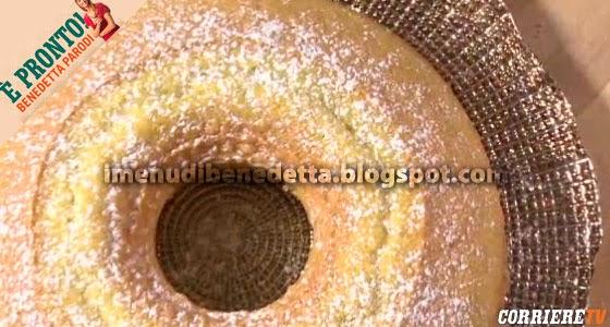 Torta Nuvolina di Benedetta Parodi