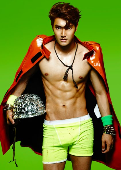 120803 Super Junior Choi Siwon The Best Body