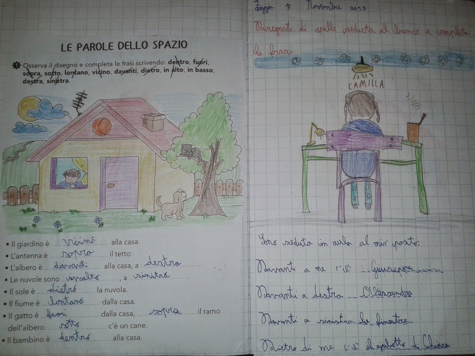 Amato LA MAESTRA MARIA TI SALUTA: Quaderno di geografia classe 2^ a.s.  WD05