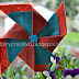 Tutorial girandola in feltro - felt pinwheel tutorial