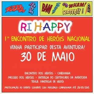 Loja Ri Happy do Shopping Grande Rio promove 1º encontro de Heróis Nacional