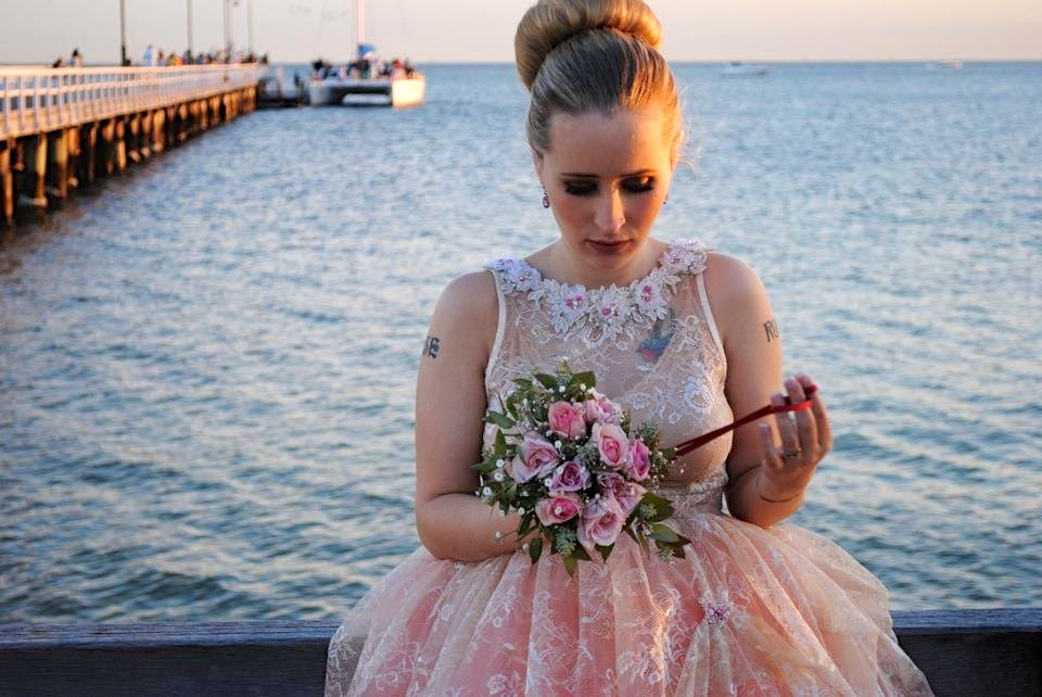 ANAESSIA: Our Beautiful Bride in Short 50\'s / Ballerina Inspired ...