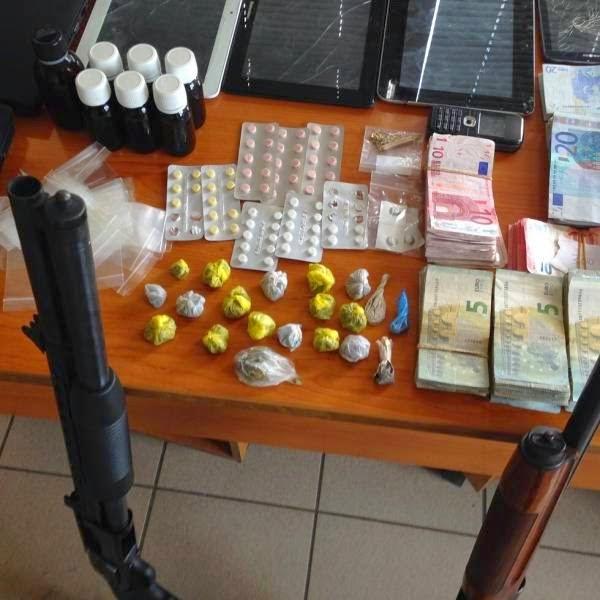 """Μα γίνονται στα Λιόσια τέτοια πράγματα; Από Λιόσια και Ζεφύρι οι """"χονδρέμποροι"""" ναρκωτικών της Καλαμάτας"""