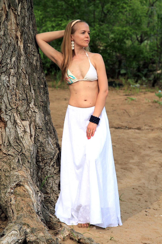 Пляжная юбка: выбираем и шьем сами 43