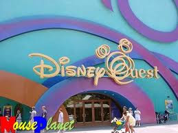 Disney Quest Entrance