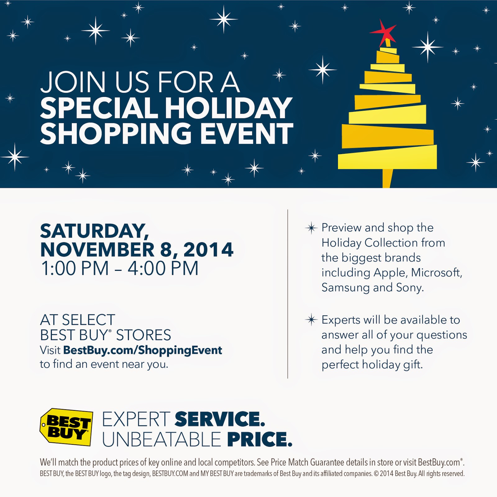 Best Buy Holiday Shopping Event #BBYShoppingEvent