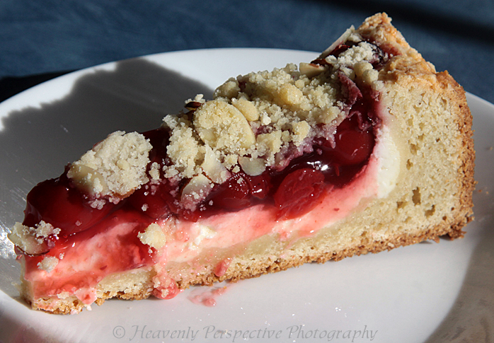 Life's Little Pleasures: Cherry Cream Cheese Coffee Cake