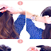 Topsy Braid Ponytail Hairstyle Tutorial