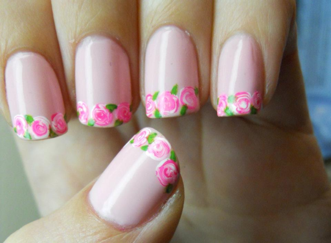 Nail designs for very short nails nail designs for very short nails very cute nail ideas for super short nails youtube prinsesfo Image collections