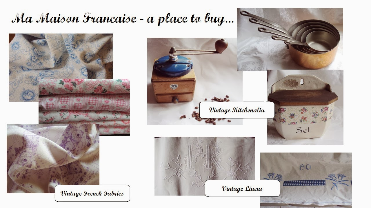 Ma Maison Francaise vintage French home wares