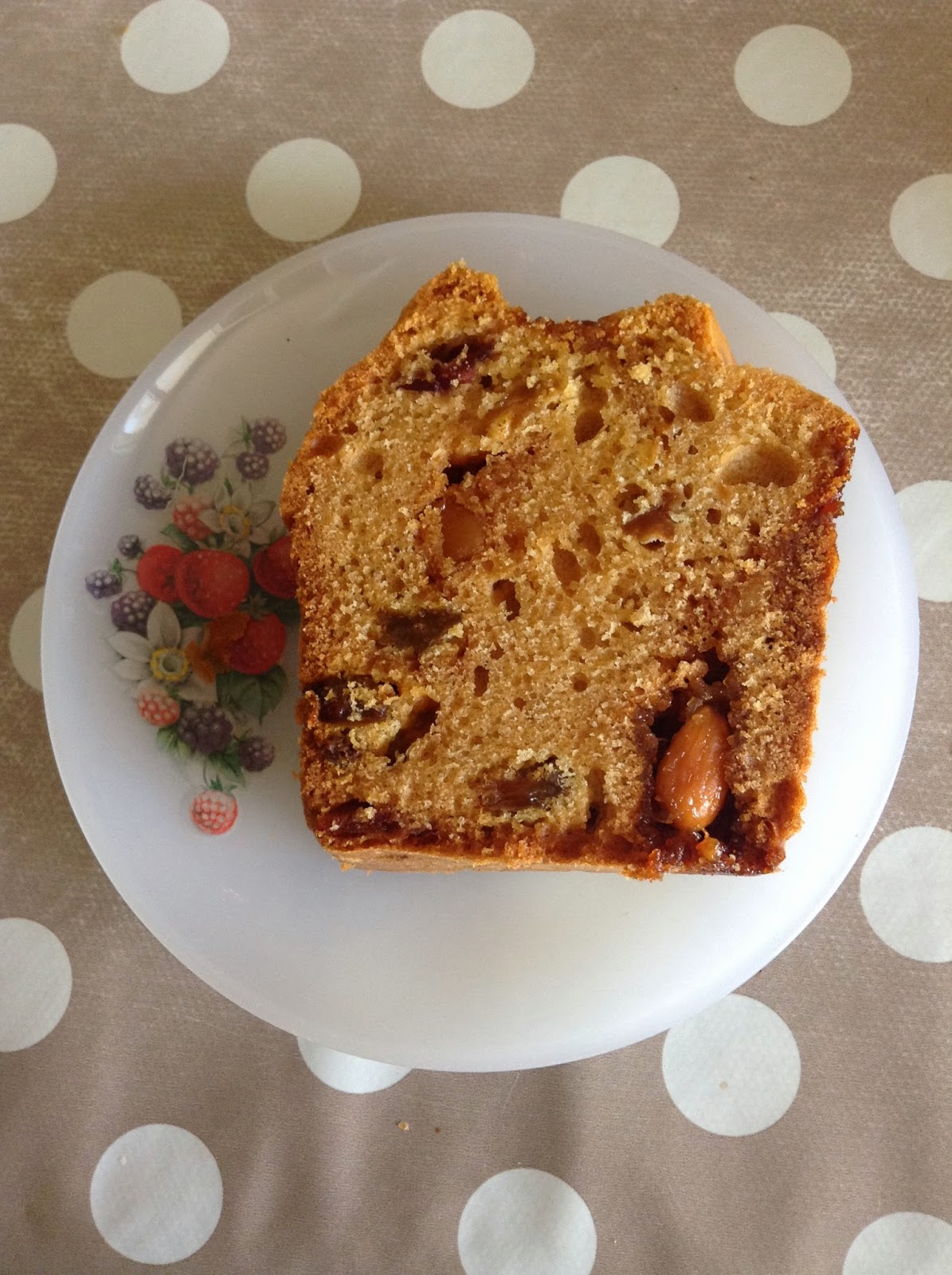 cake nougat cranberries