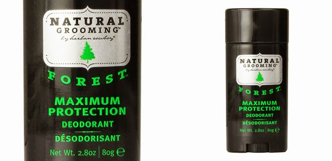 Herban Cowboy Natural Grooming Deodorant Forest