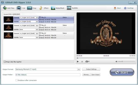 GiliSoft DVD Ripper 4