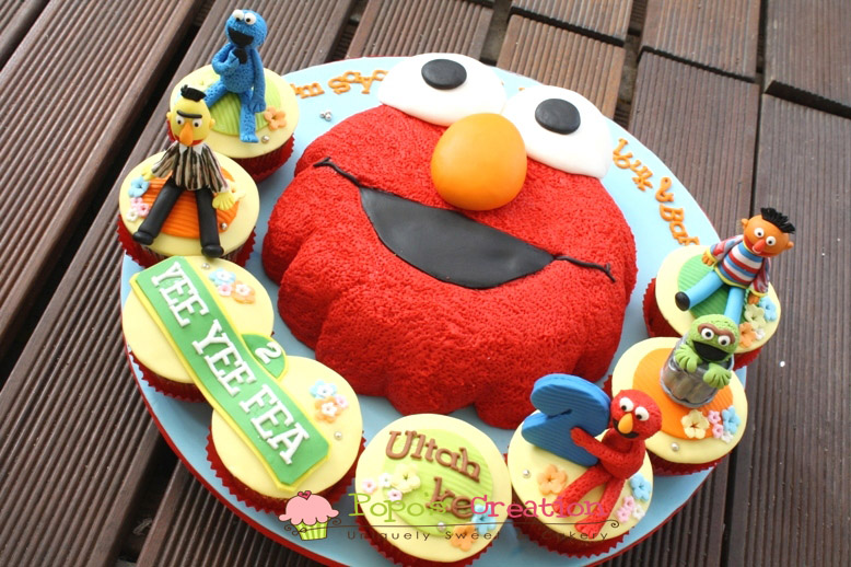 Elmo cake template cake ideas and designs for Elmo template for cake