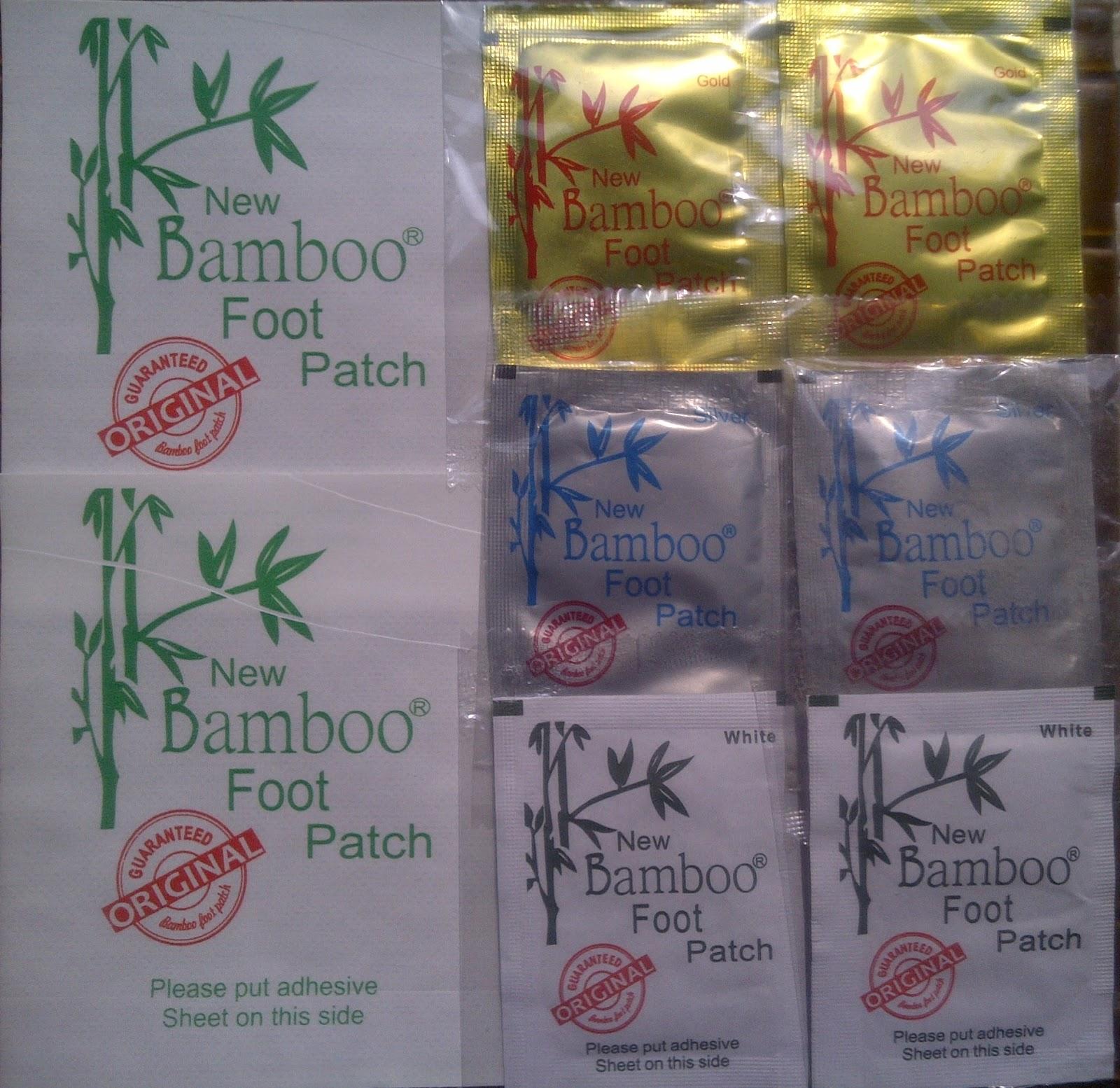 Koyo Kaki New Bamboo Original Stampe The Best Quality Bambo Gold Detox Kesehatan