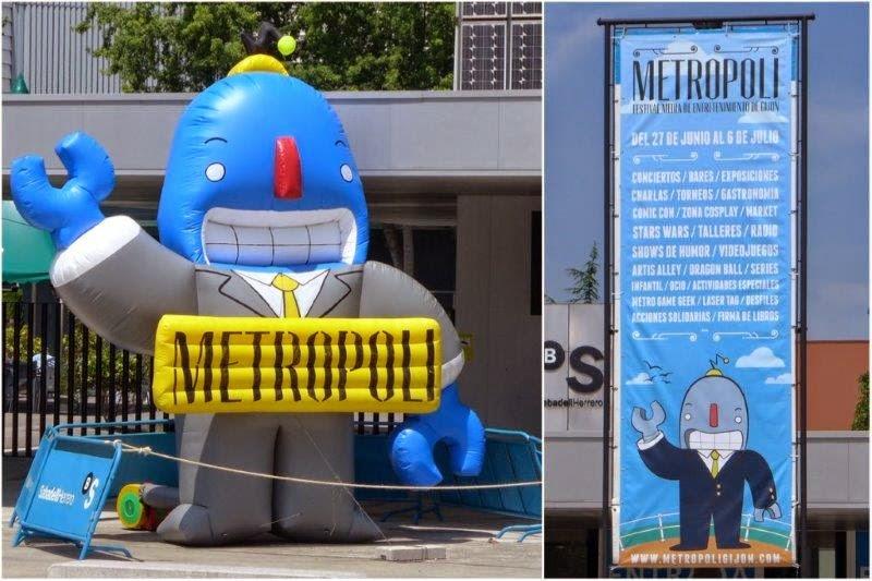 Festival Metropoli 2014 en Gijon