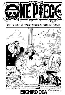 One Piece 810 Mangá Português leitura online
