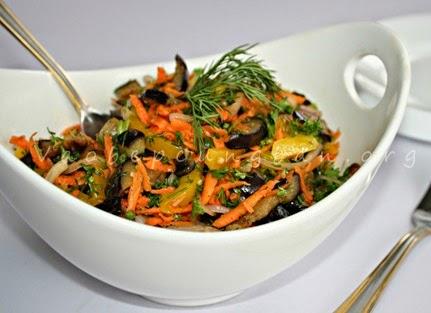 Salad cà tím lạ miệng không ngán