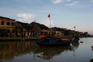 Río de Hoi An, VIetnam.