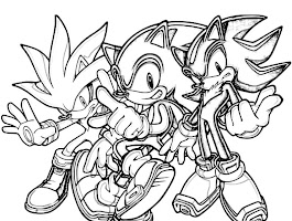 Super Silver The Hedgehog Coloring Pages
