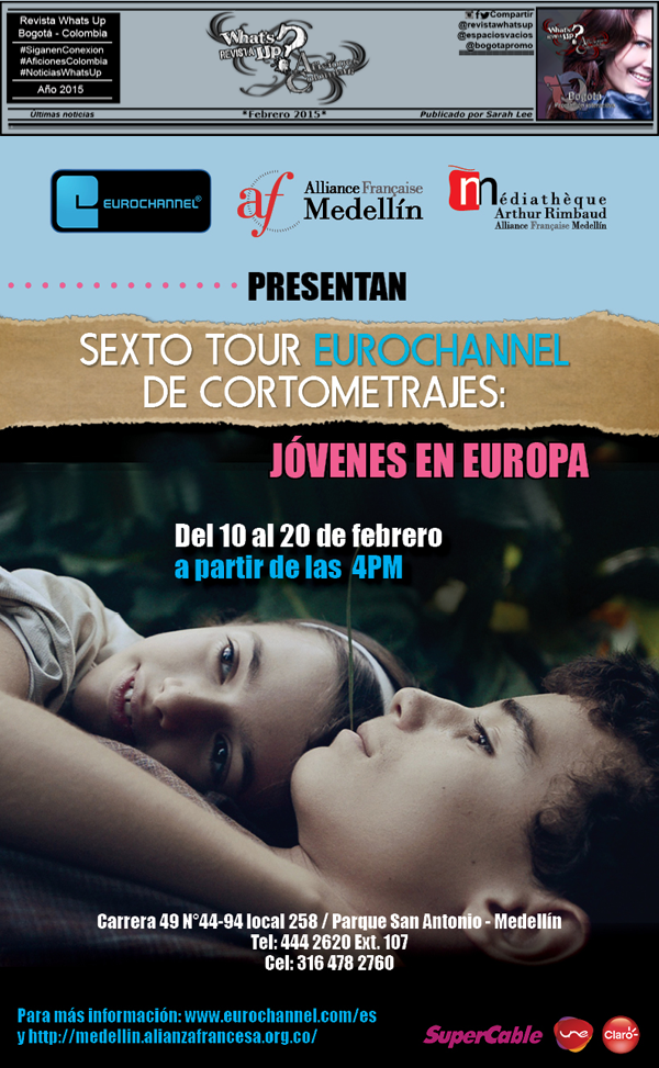 Evento-Eurochannel-Colombia-Jovenes-Europa-Alianza-francesa-Medellín