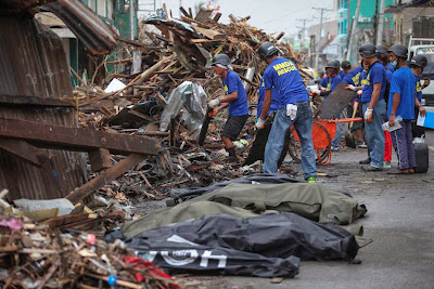 Death toll with 'Yolanda', climb to 6092
