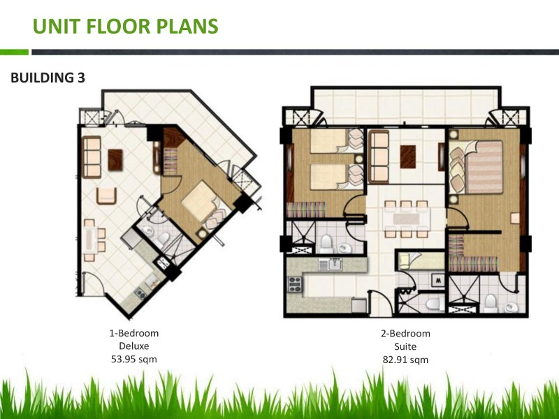 Field residences unit floor plan for Floor plans for units
