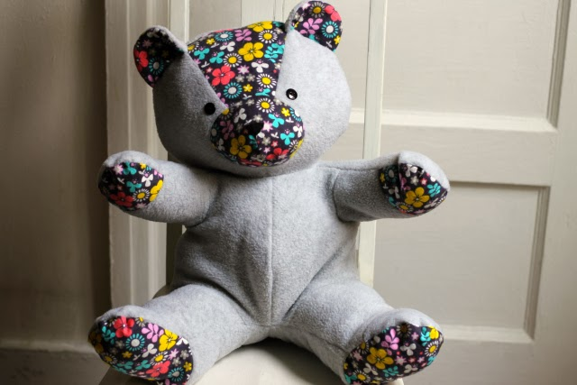four square walls: ted d. bear