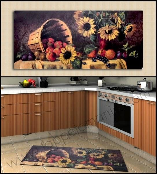 Stuoia cucina in cotone tappeti per arredare la tua casa for Tappeti arredo