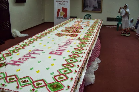 Pictures Of The Biggest Foods On Earth - The biggest birthday cake