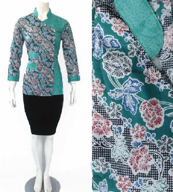 Model Blouse Batik Embos DBT 4190