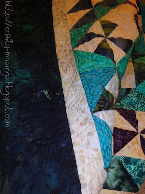 Forest Canopy, quilting detail 3