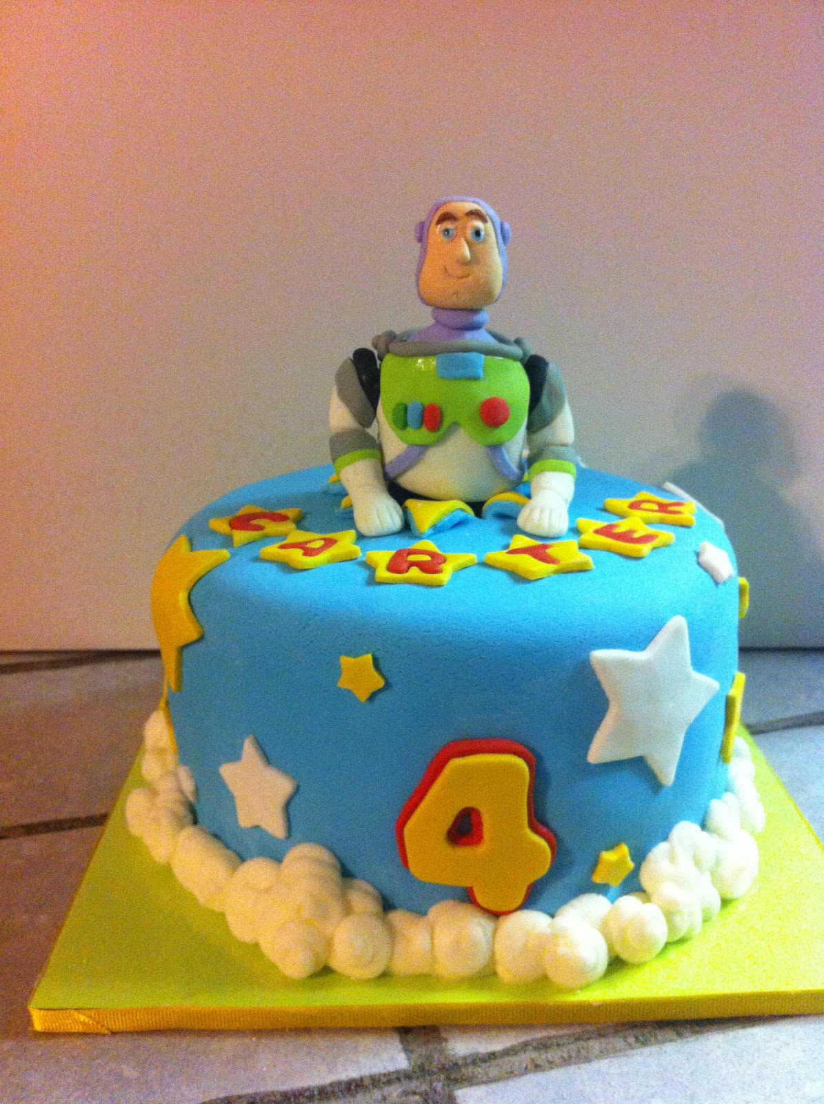 Cakes By Mindy Buzz Lightyear Cake 8 Quot