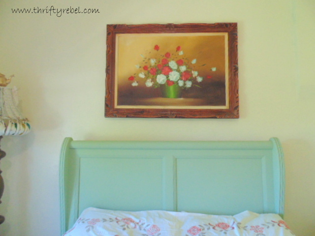 how-to-update-an-old-framed-painting